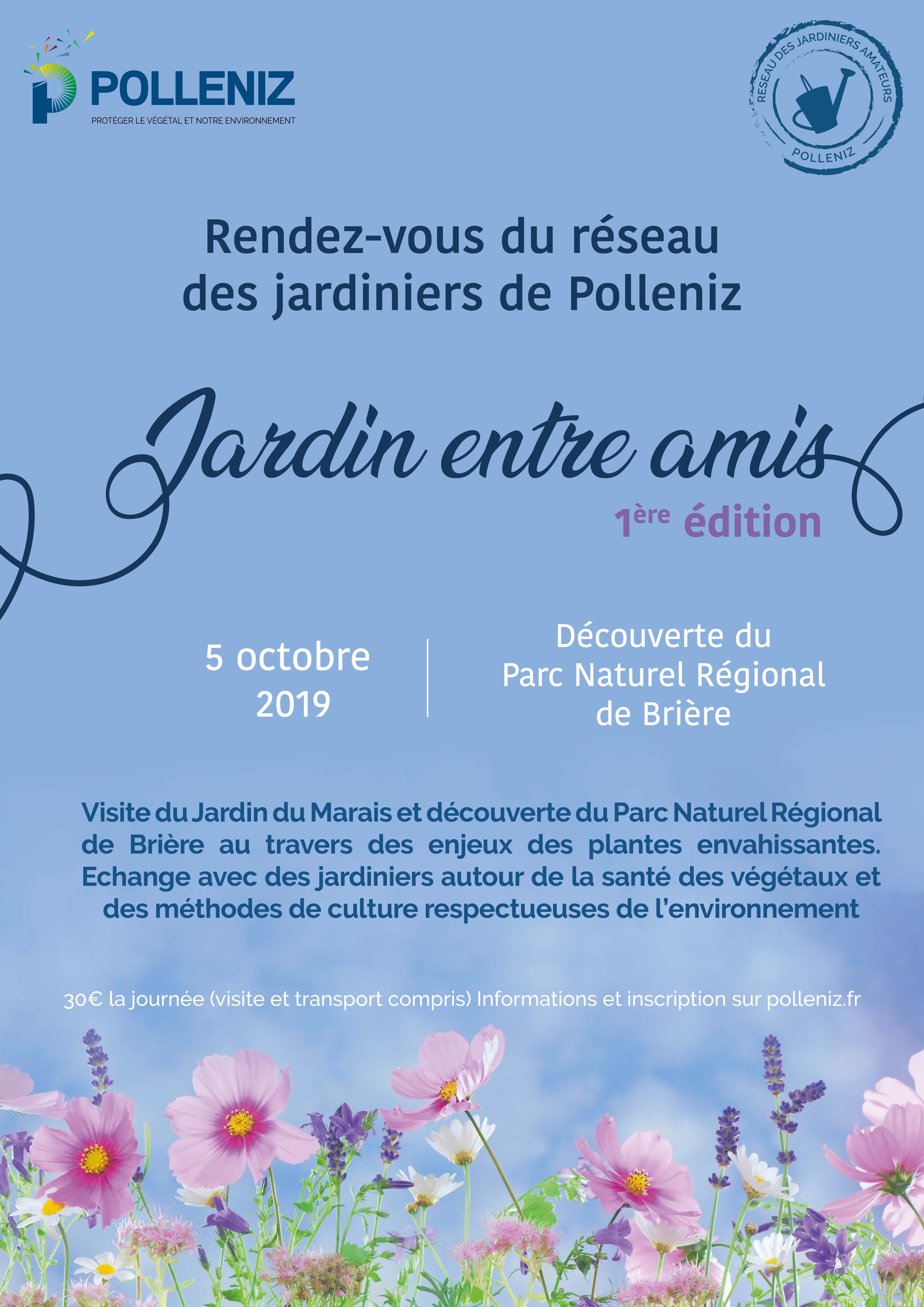 Jardin entre amis – Découverte du Parc Naturel Régional de Brière le 5 octobre 2019