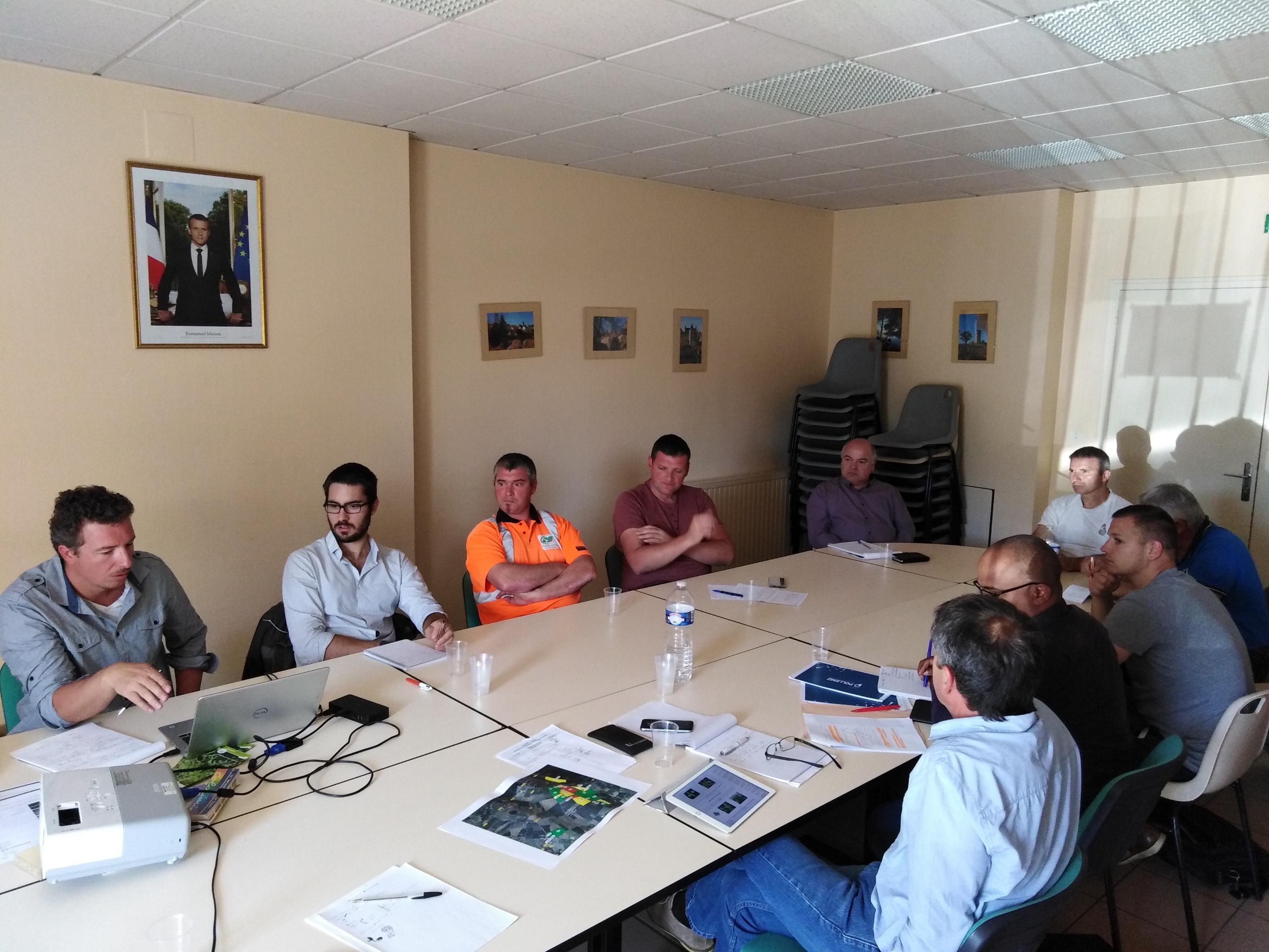 Sensibilisation  autour de l'Ambroisie à feuille d'armoise en Sarthe