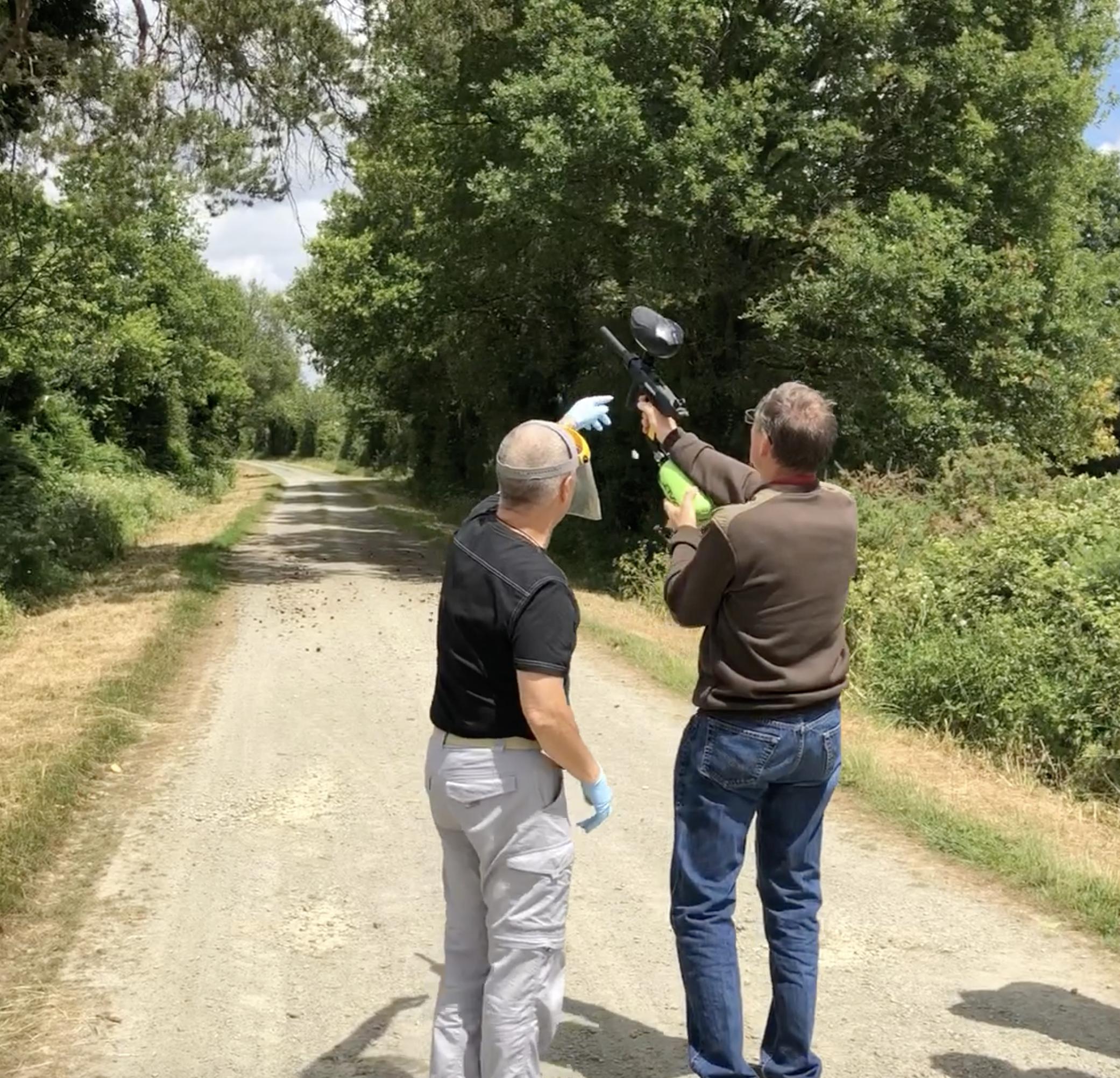 Polleniz se forme à une nouvelle méthode de lutte contre la processionnaire du pin